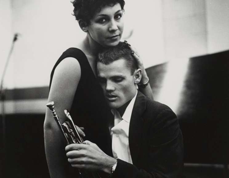 William Claxton - Chet Baker (Piano), Hollywood