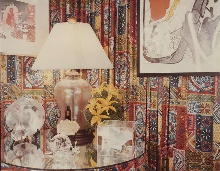 William Eggleston - Self-Portrait in Profile in a Photo Booth