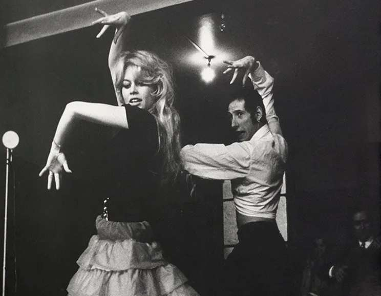 Willy Rizzo - Brigitte Bardot Dancing Flamenco in Paris