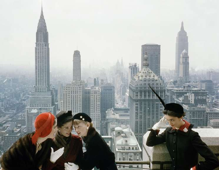Norman Parkinson - Young Velvets, Young Prices, Hat Fashions III