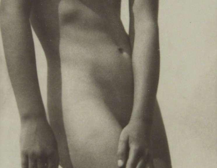 Rudolf Koppitz - Nude Study