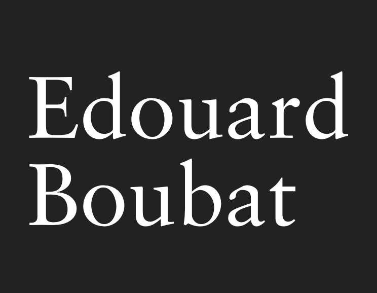 Edouard Boubat - Paris Pont Des Arts