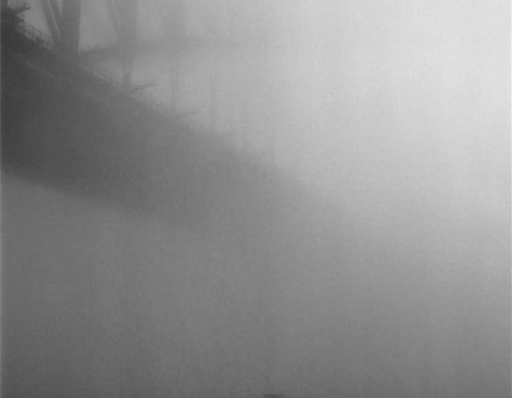 Rex Dupain - Fog, Sydney Harbour