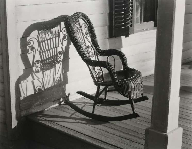 Ralph Steiner - American Rural Baroque (Wicker Chair)