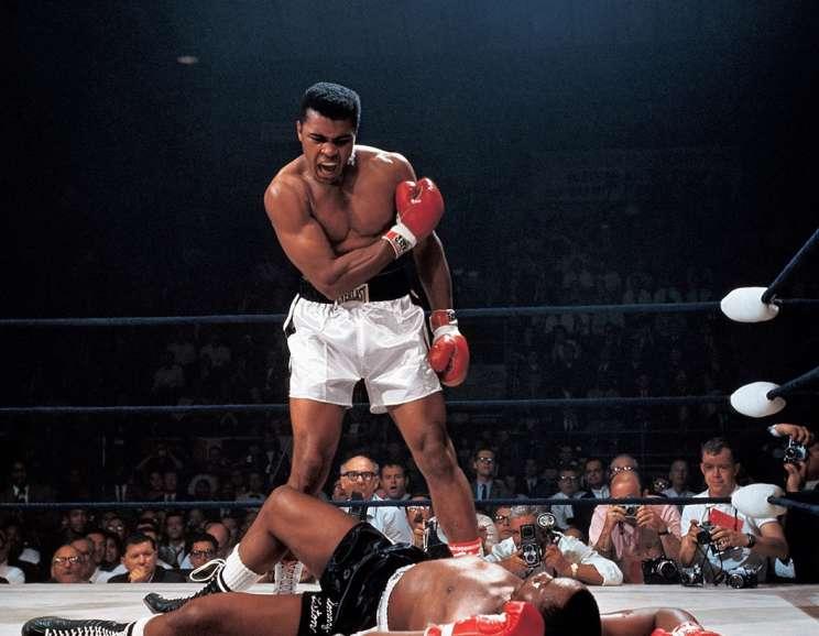 Neil Leifer - Muhammad Ali KO's Sonny Liston, Lewiston, Maine
