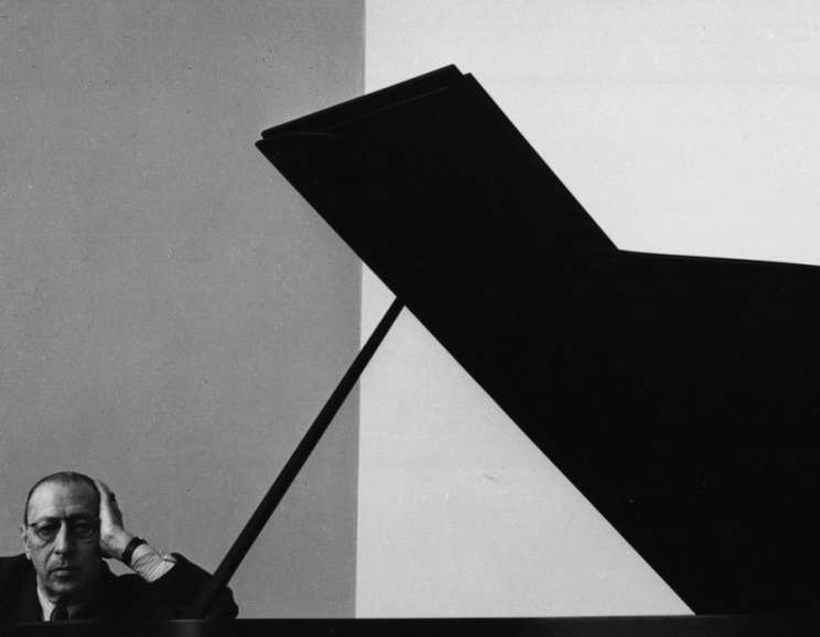 Arnold Newman - Igor Stravinsky