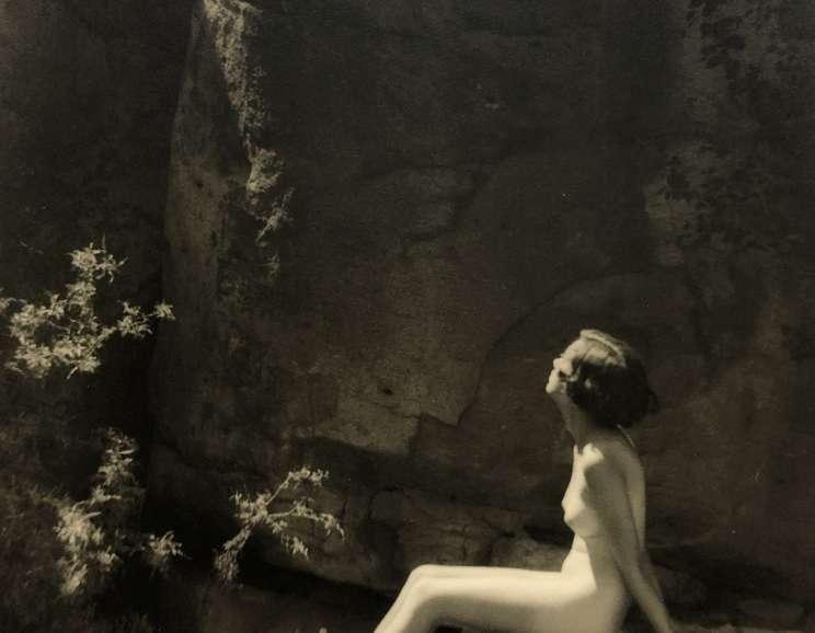 Forman Hanna - Untitled (Nude on Rock)