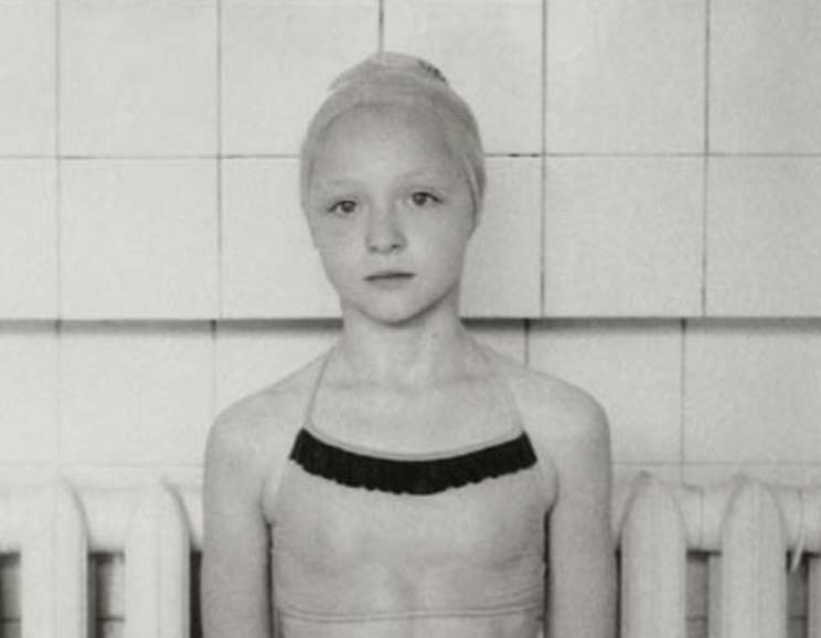 Ingar Krauss - Moscow (girl in swimming cap)