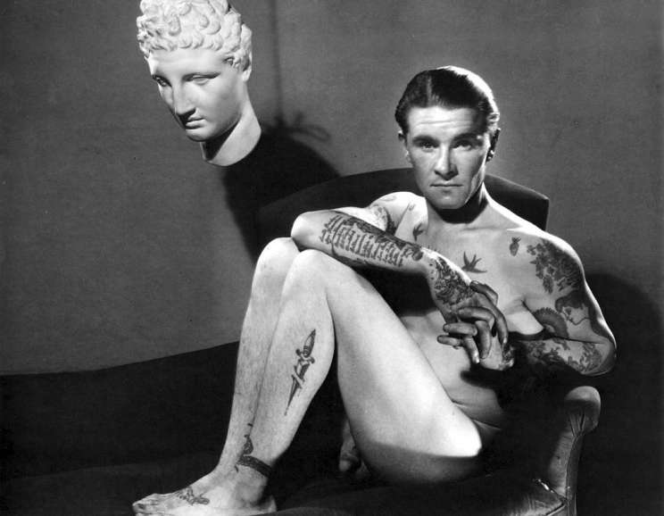 George Platt Lynes - Tattooed Man