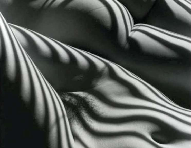 Lucien Clergue -  Two Zebra Nudes, New York