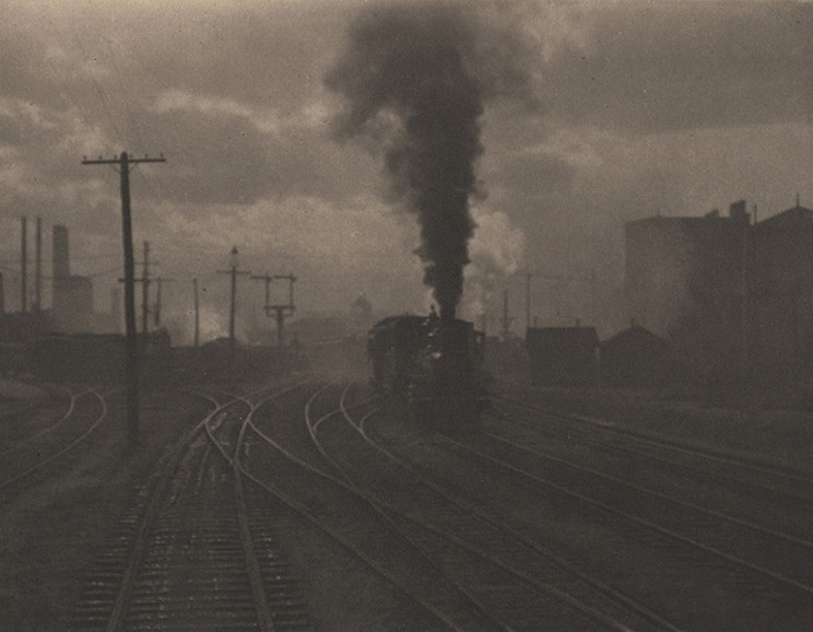 Alfred Stieglitz - The Hand of Man