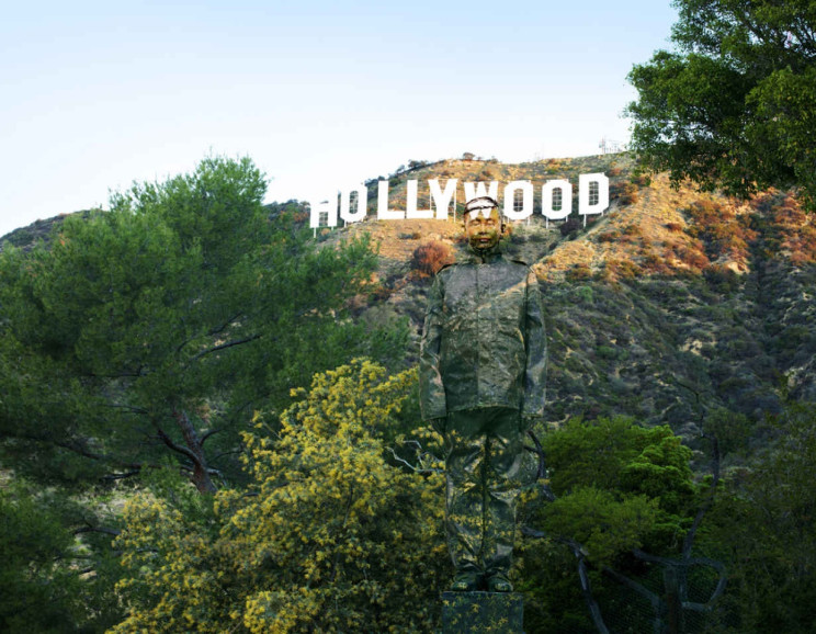 Liu Bolin - Hiding in California No. 2, Hollywood