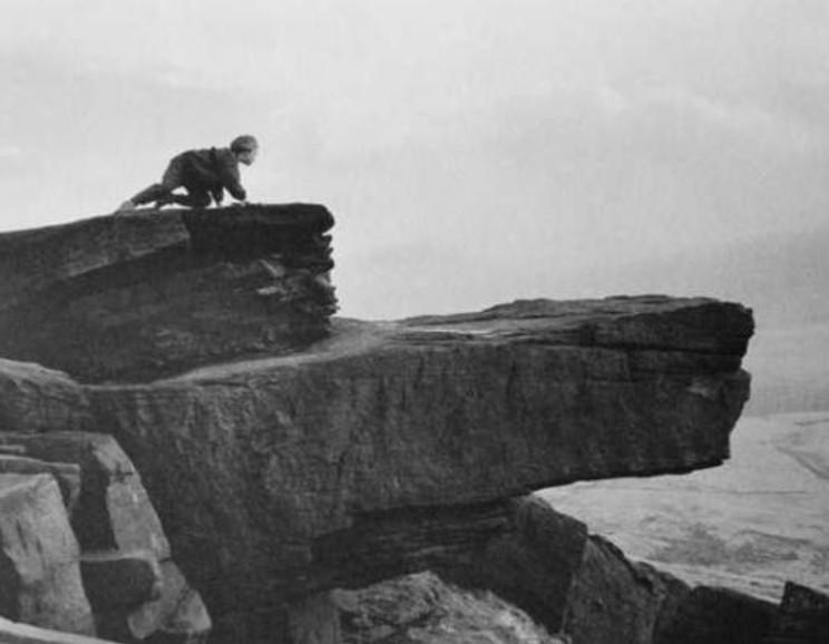 George Tice - Buckstones, Scammonden Moor, Yoorkshire