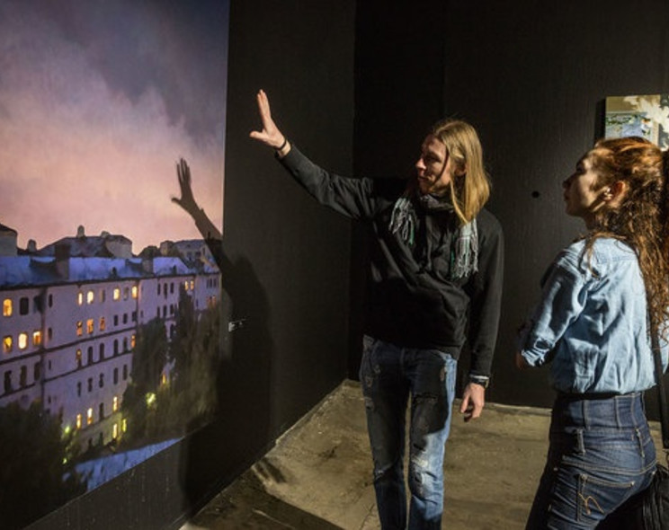 "Semyon Faibisovich's exhibition ""My Moscow"" opened in the Museum of Moscow"