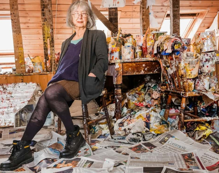 Rose Wylie: «I want to be known for my paintings – not because I'm old»