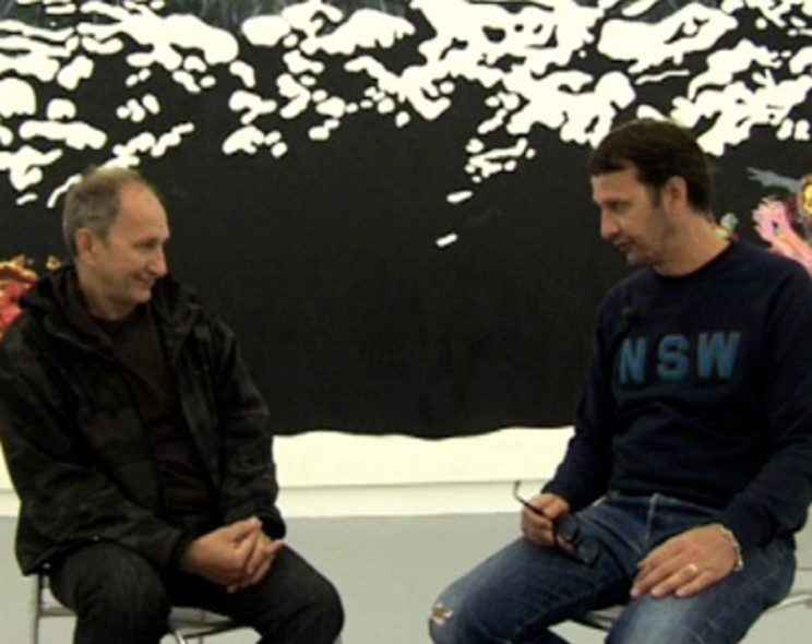 Video: Sergey Bratkov talks with Daniel Richter