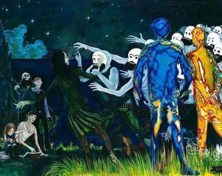 Даниэль Рихтер привез в Москву свои психоделические картины