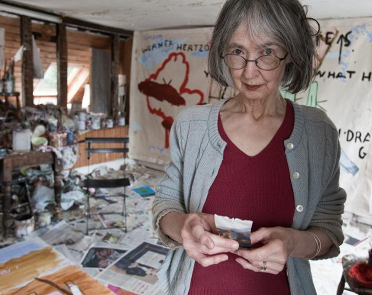 Why painter Rose Wylie is hot stuff at 76