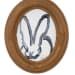 Hunt Slonem, White Bunny, 2019