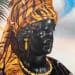 Kajahl, Expression Portrait (Metallic Face), 2016