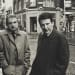 Harry Diamond, Francis Bacon and Lucian Freud outside the 'French' Pub, London, 1973 (Vintage Print)