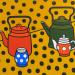 Anya Zholud, Dictionary of Basic Happiness with Polka Dots: Yellow 2, 2020