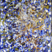 Hyacinthe Ouattara, Density Rhythm and Frequencies I (6 drawings), 2020