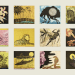 Stephen Chambers, Stupid Stupid (set of 5 etchings) - My Friend, the Tree, 2015