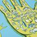 Jiha Moon, Magic Hand (Yellow), 2020