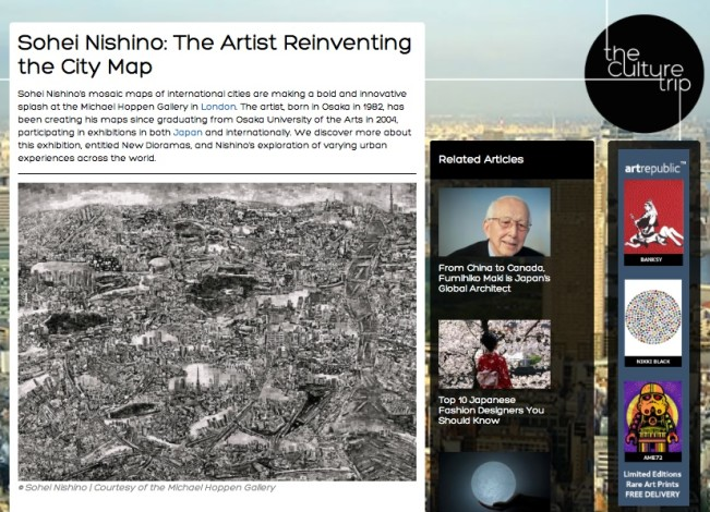 Sohei Nishino: The Artist Reinventing the City Map