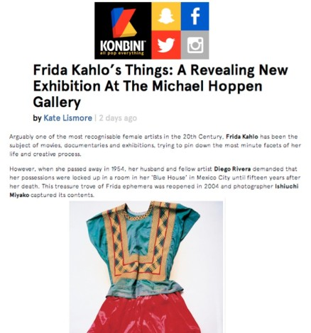 Frida Kahlo's Things: A Revealing New Exhibition at the Michael Hoppen Gallery