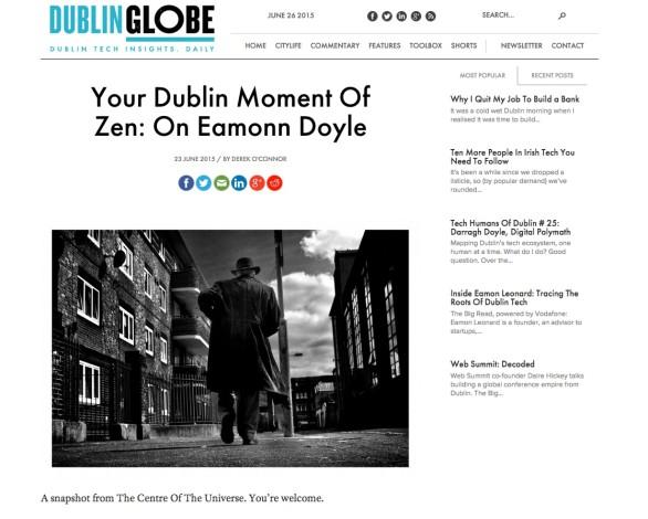 Your Dublin Moment Of Zen: On Eamonn Doyle