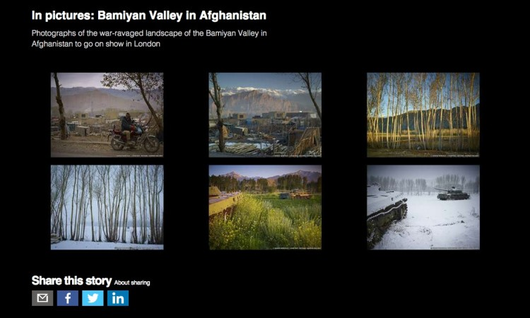 In Pictures: Bamiyan valley, Afghanistan