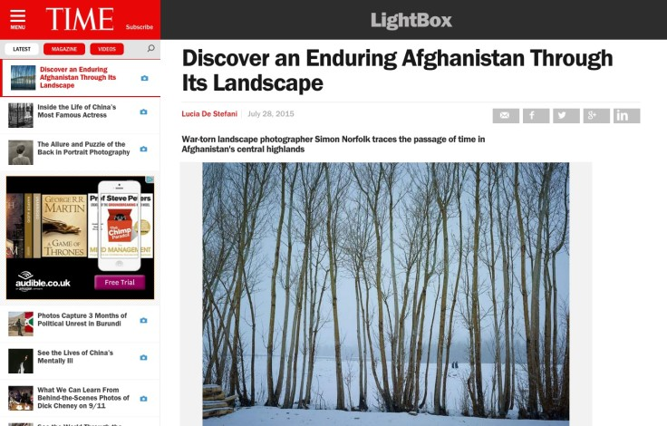 TIME: Discover an Enduring Afghanistan Through Its Landscape