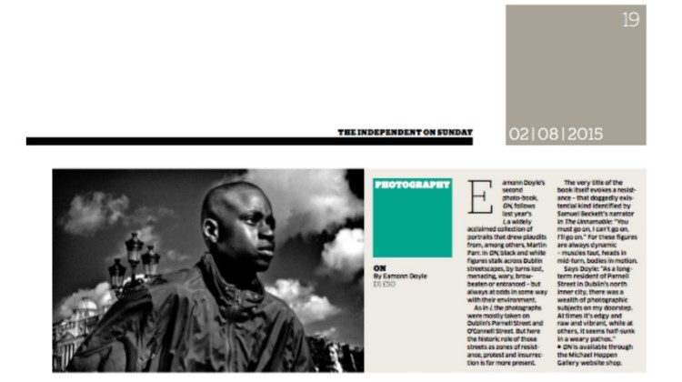 THE INDEPENDENT ON SUNDAY, Photo Book of the week