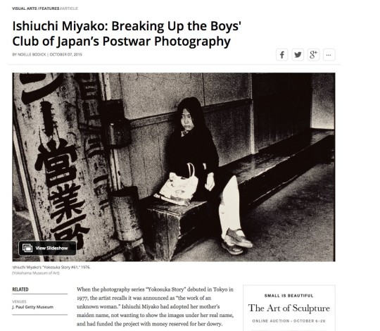 Ishiuchi Miyako: Breaking Up the Boys' Club of Japan's Postwar Photography