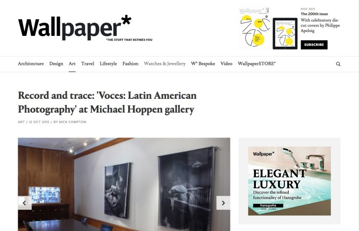 Record and trace: 'Voces: Latin American Photography' at Michael Hoppen gallery