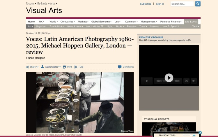 Voces: Latin American Photography 1980-2015, Michael Hoppen Gallery, London — review