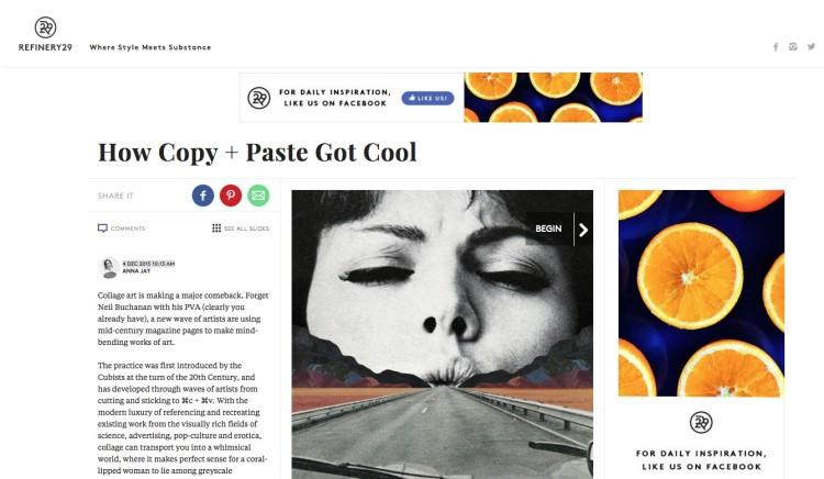 How Copy + Paste Got Cool