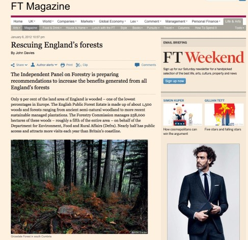 Rescuing England's forests