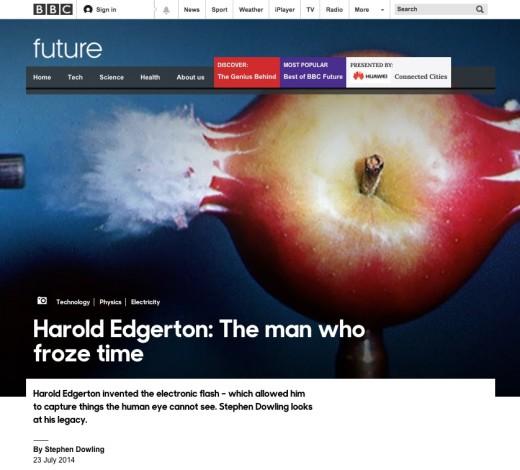Harold Edgerton: The Man Who Froze Time