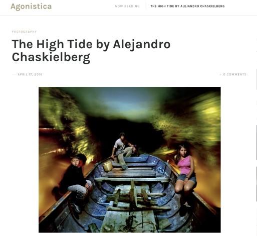 The High Tide by Alejandro Chaskielberg
