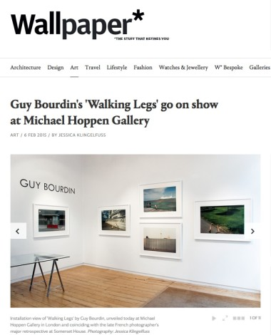 Guy Bourdin's 'Walking Legs' go on show at Michael Hoppen Gallery