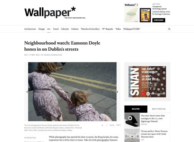 Neighbourhood watch: Eamonn Doyle hones in on Dublin's streets