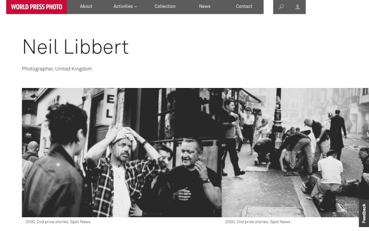 Neil Libbert: World Press Photo award winner