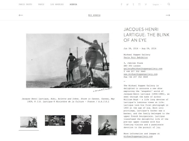Jacques-Henri Lartigue: The Blink of an Eye