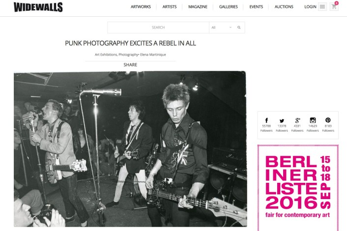 PUNK PHOTOGRAPHY EXCITES A REBEL IN ALL
