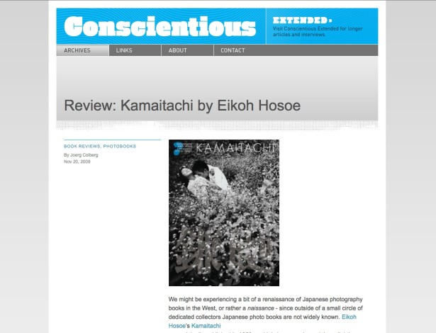 Review: Kamaitachi by Eikoh Hosoe