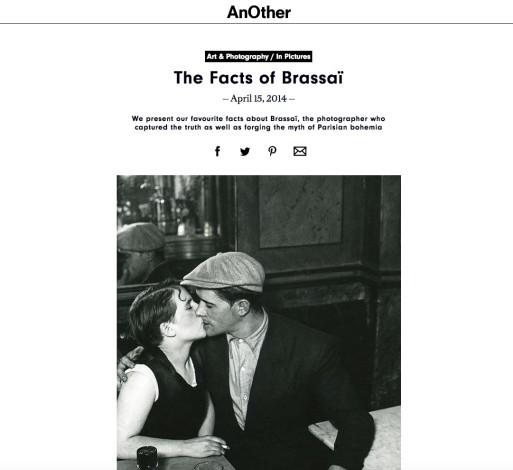 The Facts of Brassaï