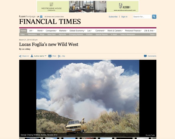 Lucas Foglia's new Wild West